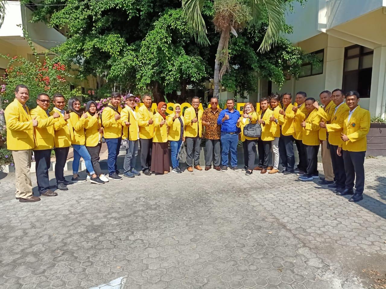 Kunjungan Mahasiswa Magister Hukum Ubhara Ke LabFor Polda Jatim