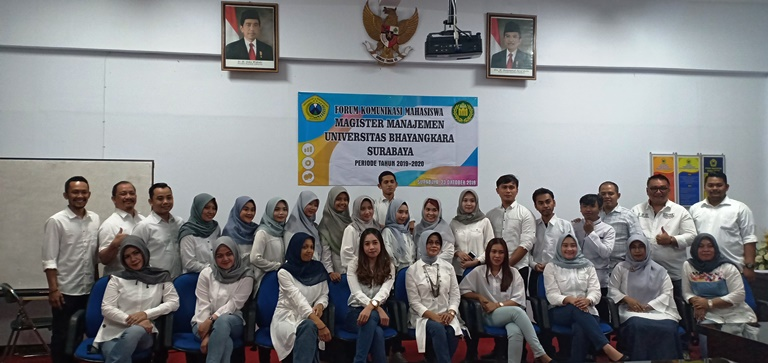 Forum Komunikasi Mahasiswa Magister Manajemen Angkatan 2019 Universitas Bhayangkara Surabaya