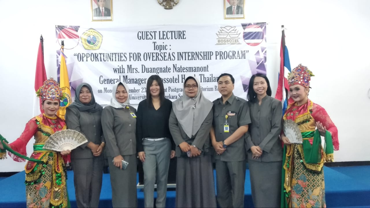 Guest Lecture : Opportunities for Overseas Internship Program